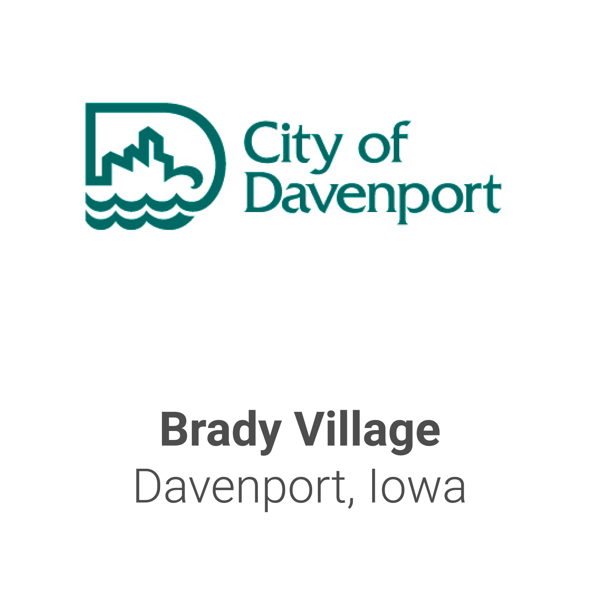 City Name Tiles-Davenport