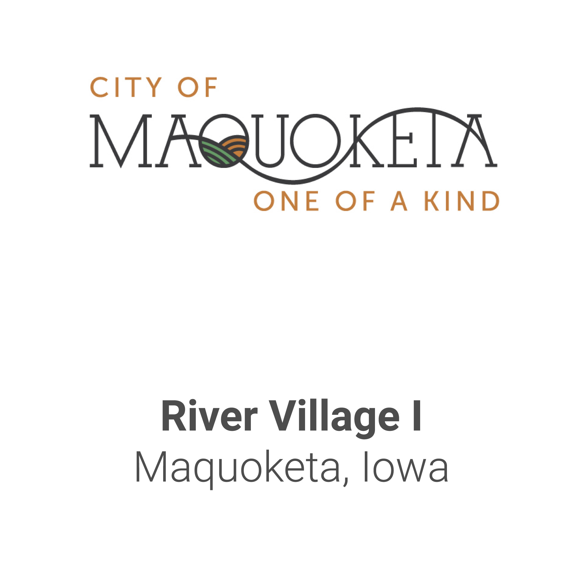 City Name Tiles-Maquoketa