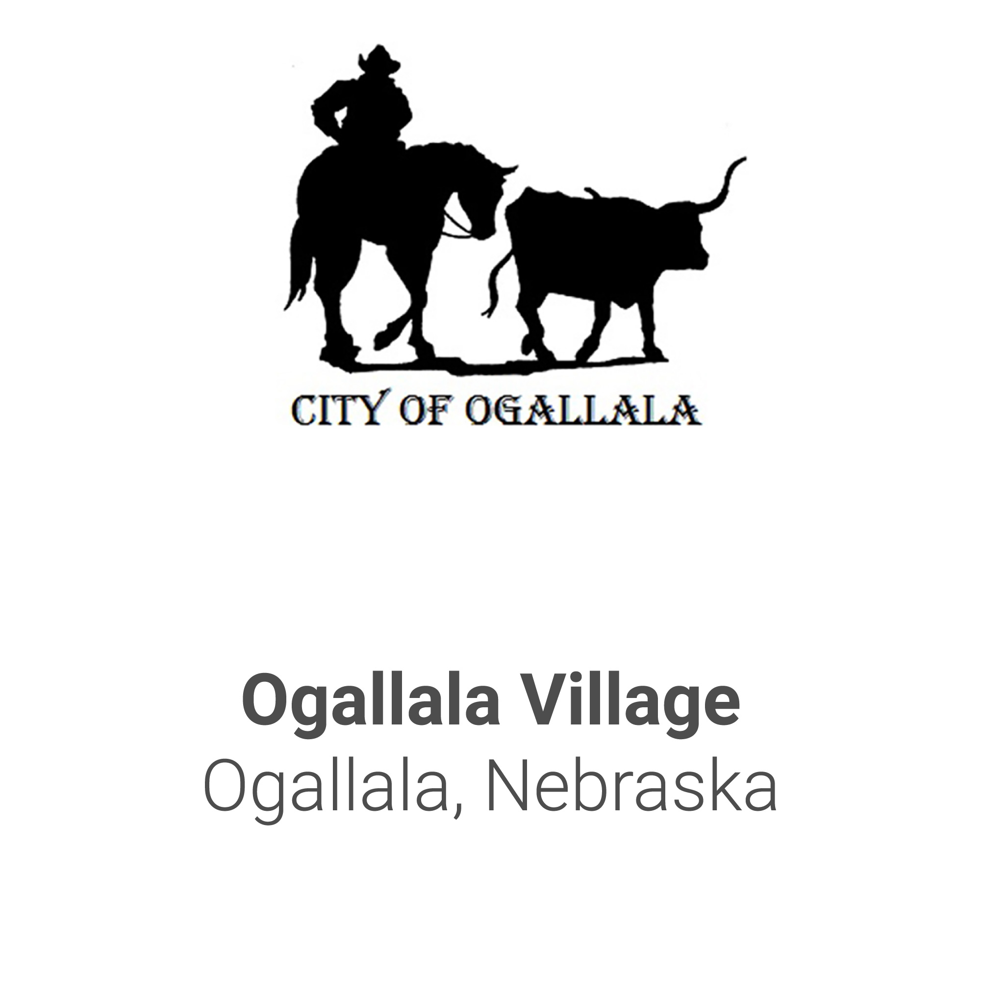 City Name Tiles-Ogallala